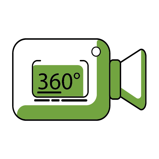 Camera with 360s Icon
